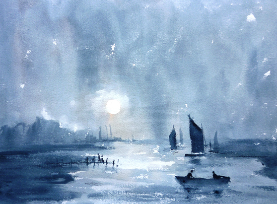 Moonlight after Turner