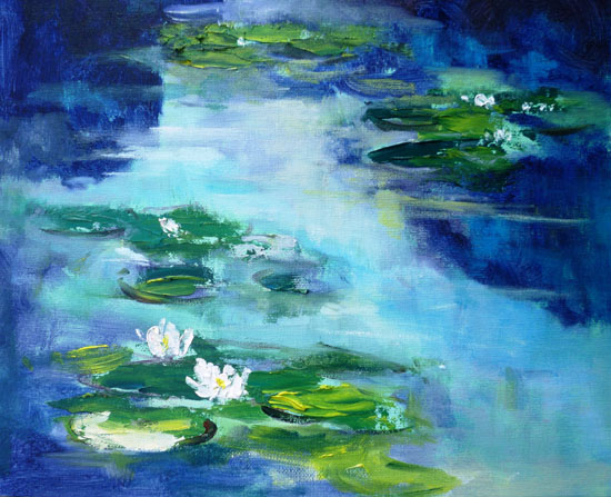 Waterlillies after Monet